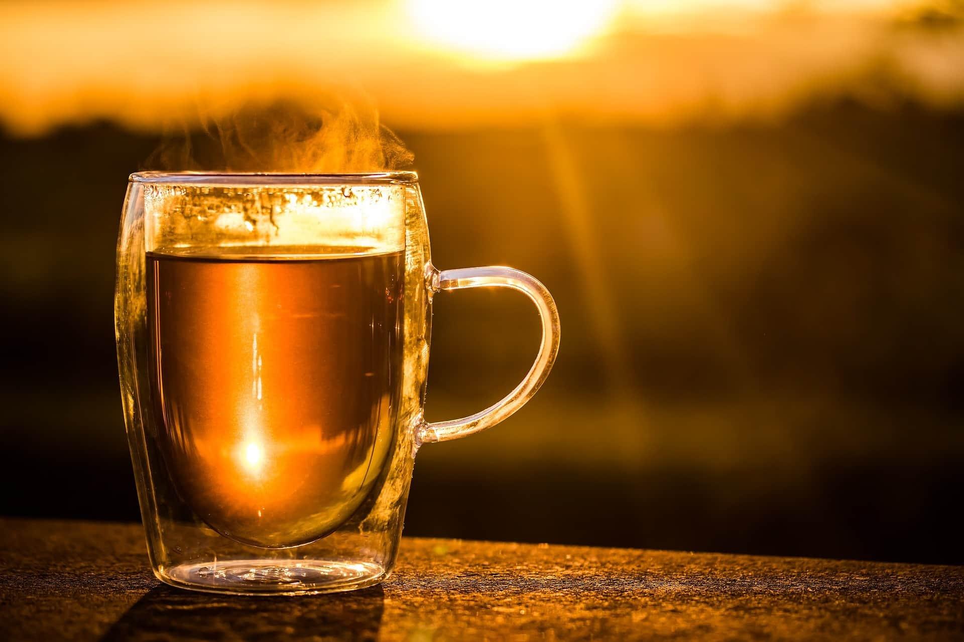 warming tea